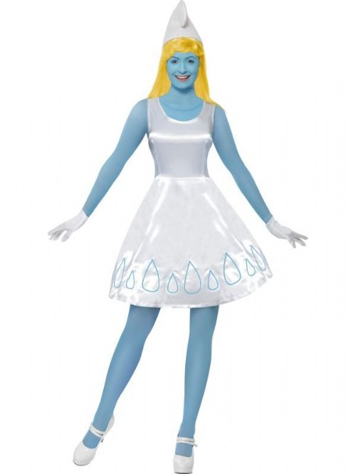 Smurfette Costume, Blue